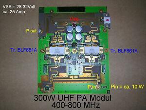 70cm PA Modul 400-800Mhz