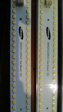 4x Samsung Sunboard 96 3500k LM561C LED  strips 44-48 watts each W/ heatsinks