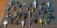 Huge Lot Of Used Diecast & Plastic Helicopters & Planes , Space Shuttles Toys