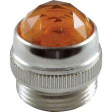 Amber Amplifier Lamp Jewel For Fender Amp Power Light Cover *New*