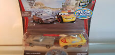 Disney Pixar Cars Colour Changer FINN McMISSILE  British Spy  & McQUEEN From USA