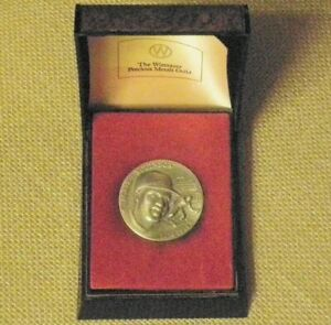 JACKIE ROBINSON BROOKLYN DODGERS LONGINES WITTNAUER COIN STERLING SILVER ROUND