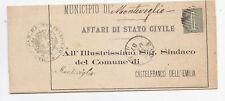 X720-BOLOGNA-MONTEVEGLIO COLLETTORIA CORSIVA SU PIEGO 1887