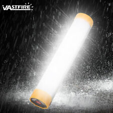 LED Portable USB Rechargeable Work Light Tube Outdoor Camping Hiking Lamp Torch