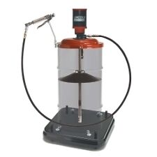 LINCOLN INDUSTRIAL 9917 - Portable Grease Pump for 50:1 a?? 120-lb. Drums