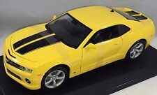 1 18 Maisto CHEVROLET Camaro SS RS 2010 Yellow/black