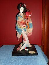 Vintage Wood NISHI DOLL Japanese YAEGAKIHIME PRINCESS Embroidered Robe Nishi Co.