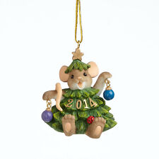 Charming Tails Branching Out For The Holiday Dated 2014 Ornament Free Shipping