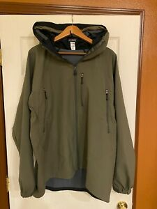 Patagonia Mars Dimension Softshell Jacket   Alpha Green   XL   Virtually Perfect