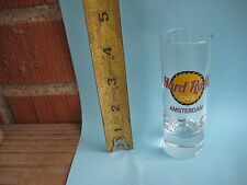 """Pre-owned 4"""" Height *** AMSTERDAM - NETHERLANDS *** Hard Rock Cafe Shot Glass"""