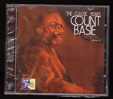 COUNT BASIE & HIS ORCHESTRA - THE CLASSIC YEARS 2 - 2 DISC CD SET - SEALED