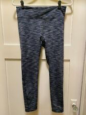 Outdoor Voices 7/8 Warm Up Legging Heathered Navy Large (Defective)