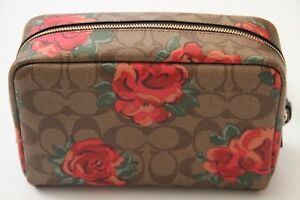 Coach Signature Floral Cosmetic Case 20 Style # F37566