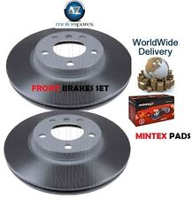 MINI COUNTRYMAN 1.6 ONE COOPER R60 2010-> FRONT BRAKE DISCS SET AND PADS KIT