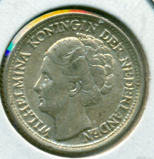 1944 NETHERLANDS 25 CENTS, ALMOST UNCIRCULATED, GREAT PRICE!