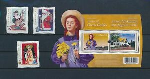 LO42287 Canada Anne of Green Gables christmas holidays fine lot MNH
