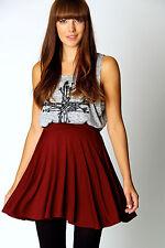 Unifarbene Damenröcke im Faltenrock -/Kilt-Stil für die Freizeit