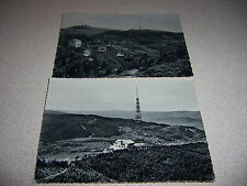 1950s RADIO-TV TOWER MONTE PENICE ITALY VTG PHOTO & RPPC POSTCARD LOT