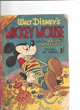 Mickey Mouse Good Grade Comic Books