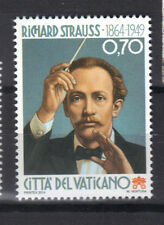 Vatican 2014 Birth of Composer Richard Georg Strauss 150th Anniversary MNH Stamp