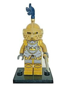 Lego Fantasy Era Gold Knight Minifigure 7079 Castle cas415