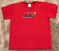 Vintage Nike T Shirt Sz Men's XL Original Double Sided Gray Tag