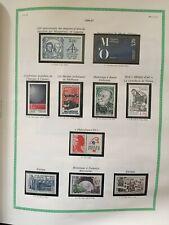 Timbres France 1986/1987 neufs** sur feuilles YT. YT 2451/2500 - .... Détail.