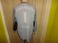 "FC Bayern München Original Adidas Torwart Trikot 2001/02 ""OPEL"" + Nr.1 Kahn Gr.L"