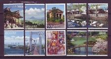 ˳˳ ҉ ˳˳R762 Japan Prefectural Scenery of the Trip 8 - 2010 complete set Japon