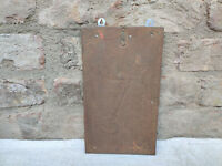 1940s Vintage Caltex Key Advertisement Tin Sign On Wooden Board Wall Hanging
