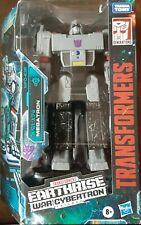 """Transformers- MEGATRON- Earthrise War For Cybertron 7"""" Figure Voyager Class New!"""