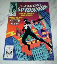 Amazing Spider-man #252 Mint 9.9 OW/W pages Unrestored 1984 1st black costume