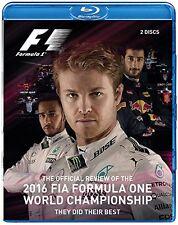 F1 Formel 1 Saison Rückblick 2016 Blu-ray NEU Nico Rosberg Lewis Hamilton Review