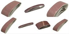 Belt Power File Sander Abrasive Sanding Belts All Sizes Choose Qty Req