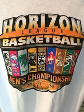 Horizon League Basketball Mens Championship 2014 T-Shirt. Size XL. NCAA