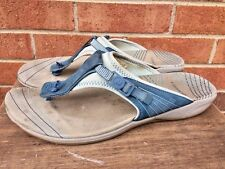 MERRELL Earth Blue Slides Sandals MULES Clogs Mary Janes WOMENS SHOES SIZE 10 :