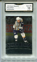 2013 Shea Weber UD Black Diamond Rookie Gem Mint 10 #196