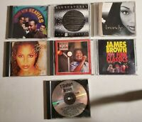 Lot of 7 music CDs James Brown Bobby Blue Bland Blackstreet and more