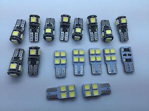 Porsche Panamera 970 GTS S Turbo FULL LED Interior Lights 17 pcs SMD Bulbs White