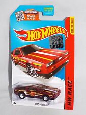 Hot Wheels 2015 FACTORY SET 1/450 SUPER TREASURE HUNT #184 DMC DeLorean