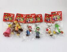 Nintendo Super Mario Bros. Backpack Buddy Set of 6 Key Chains