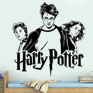 WALL STICKERS HARRY POTTER / Vinyl Wall Art Decal / WALL QUOTE STICKERS /  N24