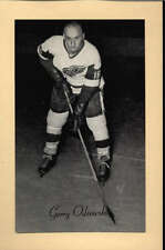 1944-63 BEEHIVE GROUP 2 PHOTOS   GERRY ODROWSKI DETROIT RED WINGS EX-MT F2511