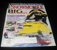 Vintage Snowmobile Magazine polaris yamaha ski doo Kawasaki arctic cat 1999