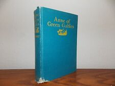 Anne of Green Gables 1948 By L.M. Montgomery Book L815