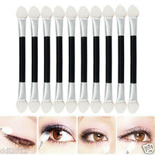 12x Double-End Eye Shadow Sponge Brushes Proper Makeup Cosmetic Applicator New