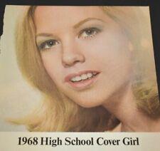 High School Cover Girl Make-Up Barbara Sigel PA Vintage Collectible Print Ad