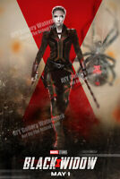 "Black Widow (2020 Style A) NEW Advance Movie Poster - Scarlett Johansson 27x40"""
