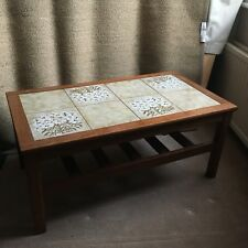 Reduced!! Tiled Coffee Table ( Vintage Retro G-plan style Mid-century, Teak )