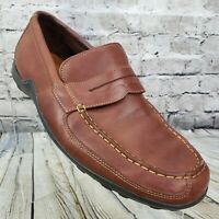 Cole Haan Mens Driving Penny Loafers Shoes Slip On Moc Toe Brown C06860 Size 11M